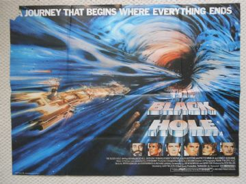 Black Hole, Original UK Quad Poster, Anthony Perkins, Ernest Borgnine, Disney 79